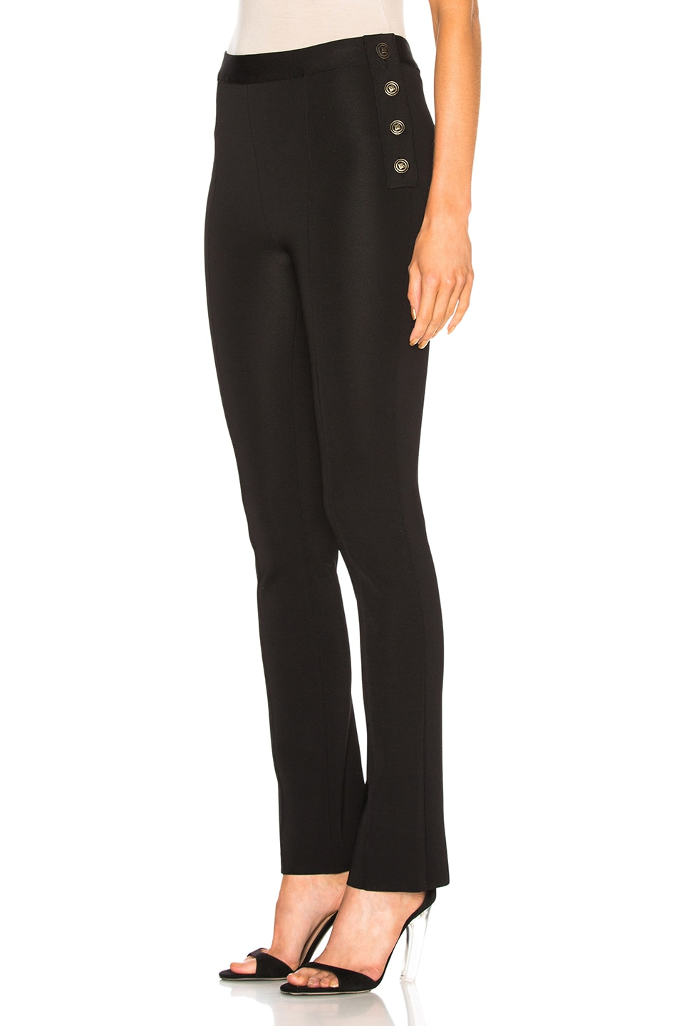 Image 3 of Givenchy Slim Trousers in Black