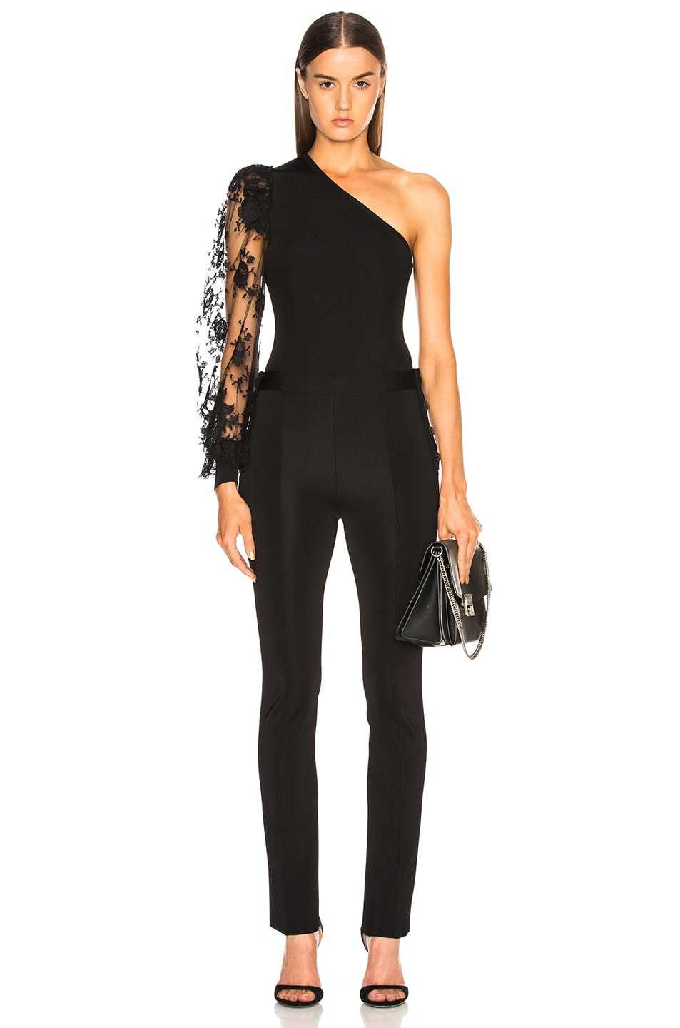 Image 5 of Givenchy Slim Trousers in Black
