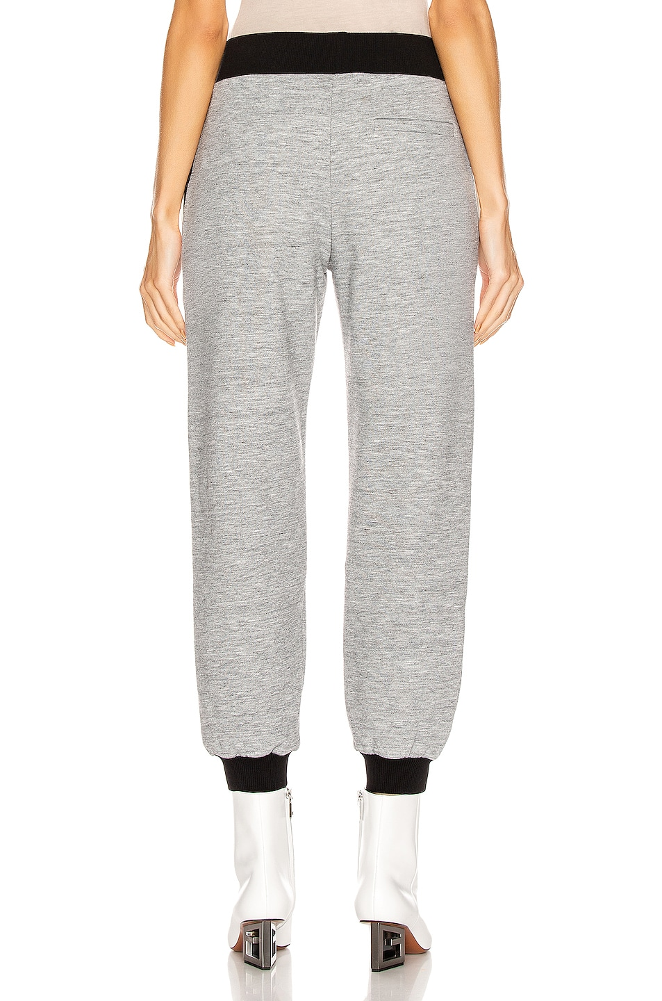 Image 4 of Givenchy Cropped Jogger Pant in Heather Grey