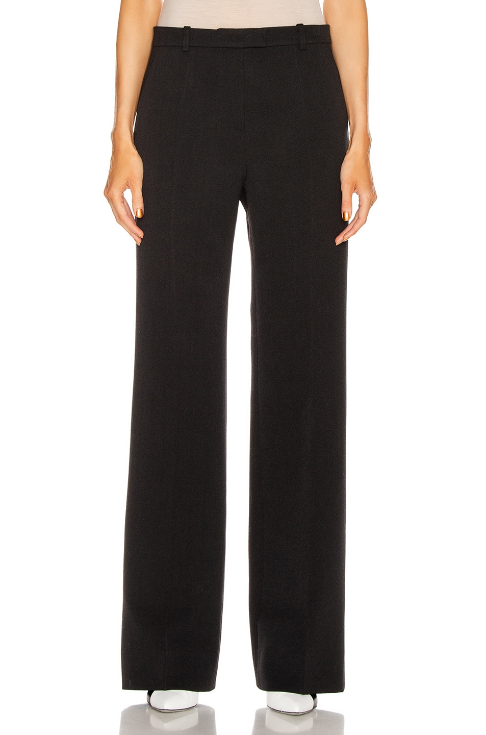 Image 1 of Givenchy Bootcut Structured Pant in Black