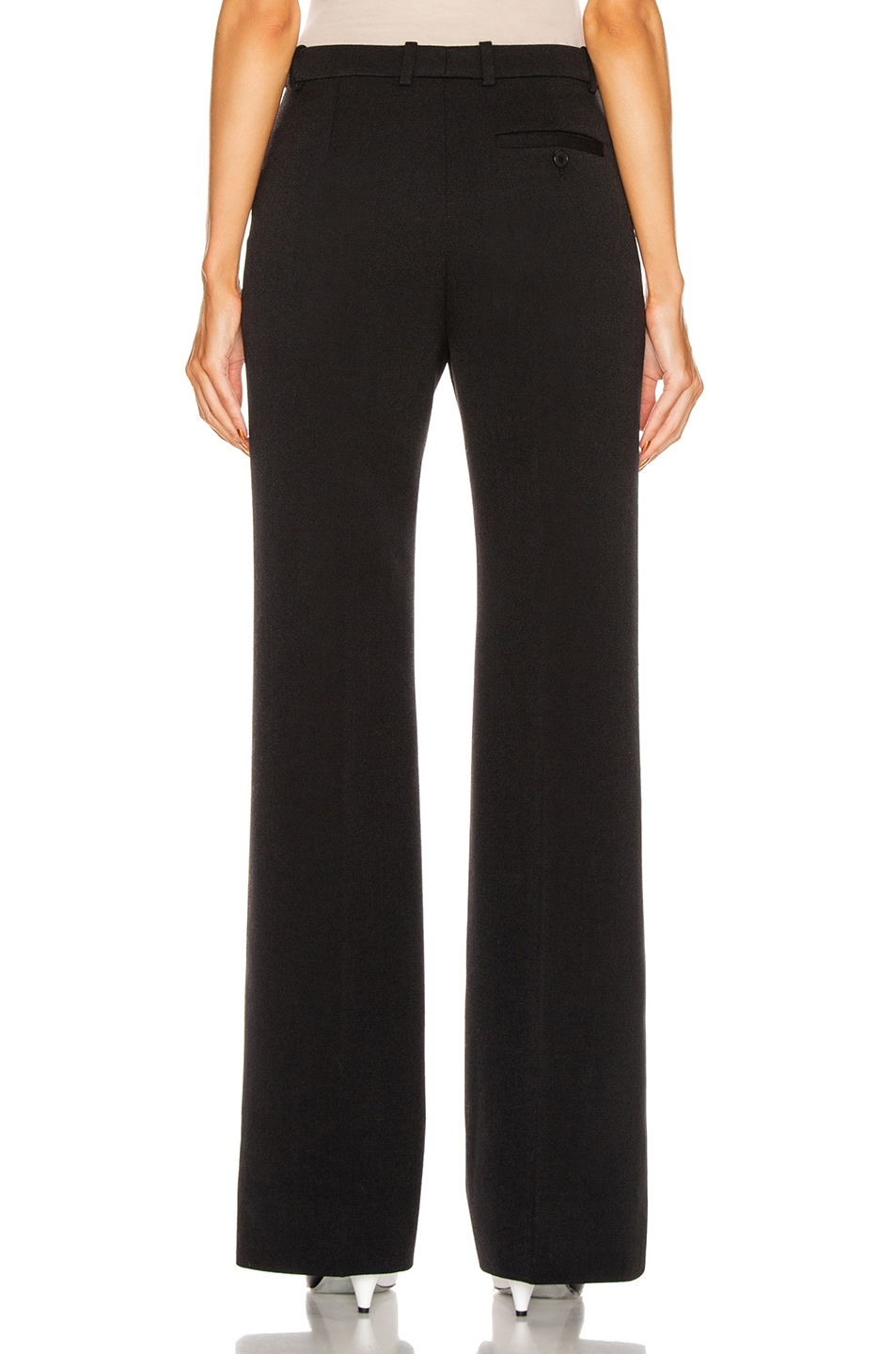 Image 3 of Givenchy Bootcut Structured Pant in Black