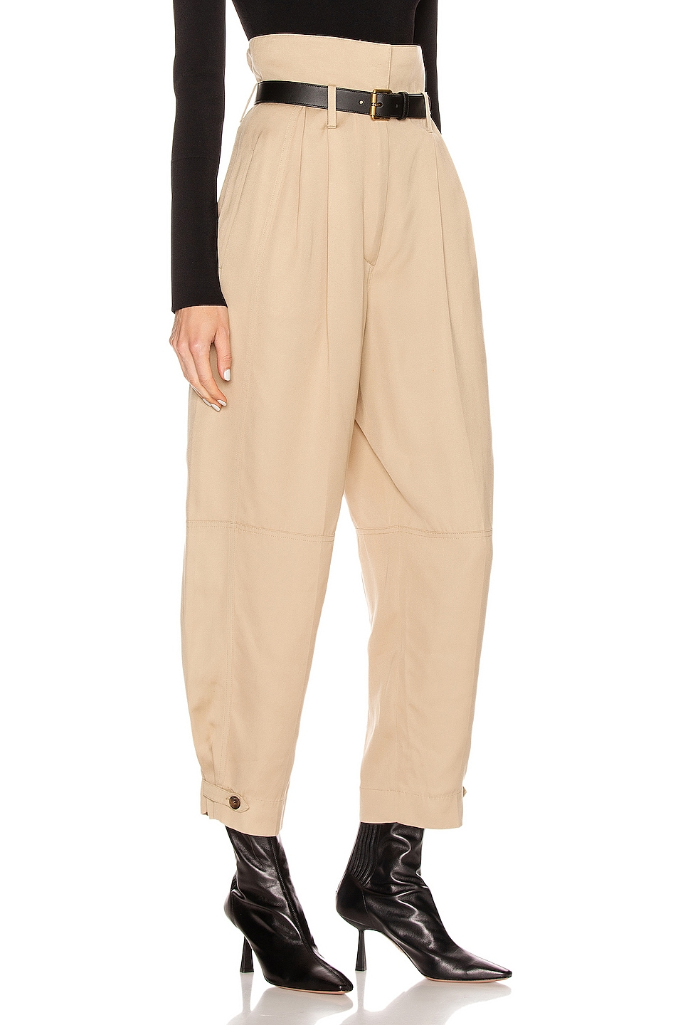 Image 2 of Givenchy High Waisted Pant in Tan