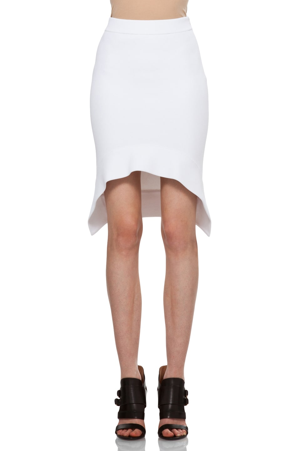 Image 1 of GIVENCHY Mini Skirt in White