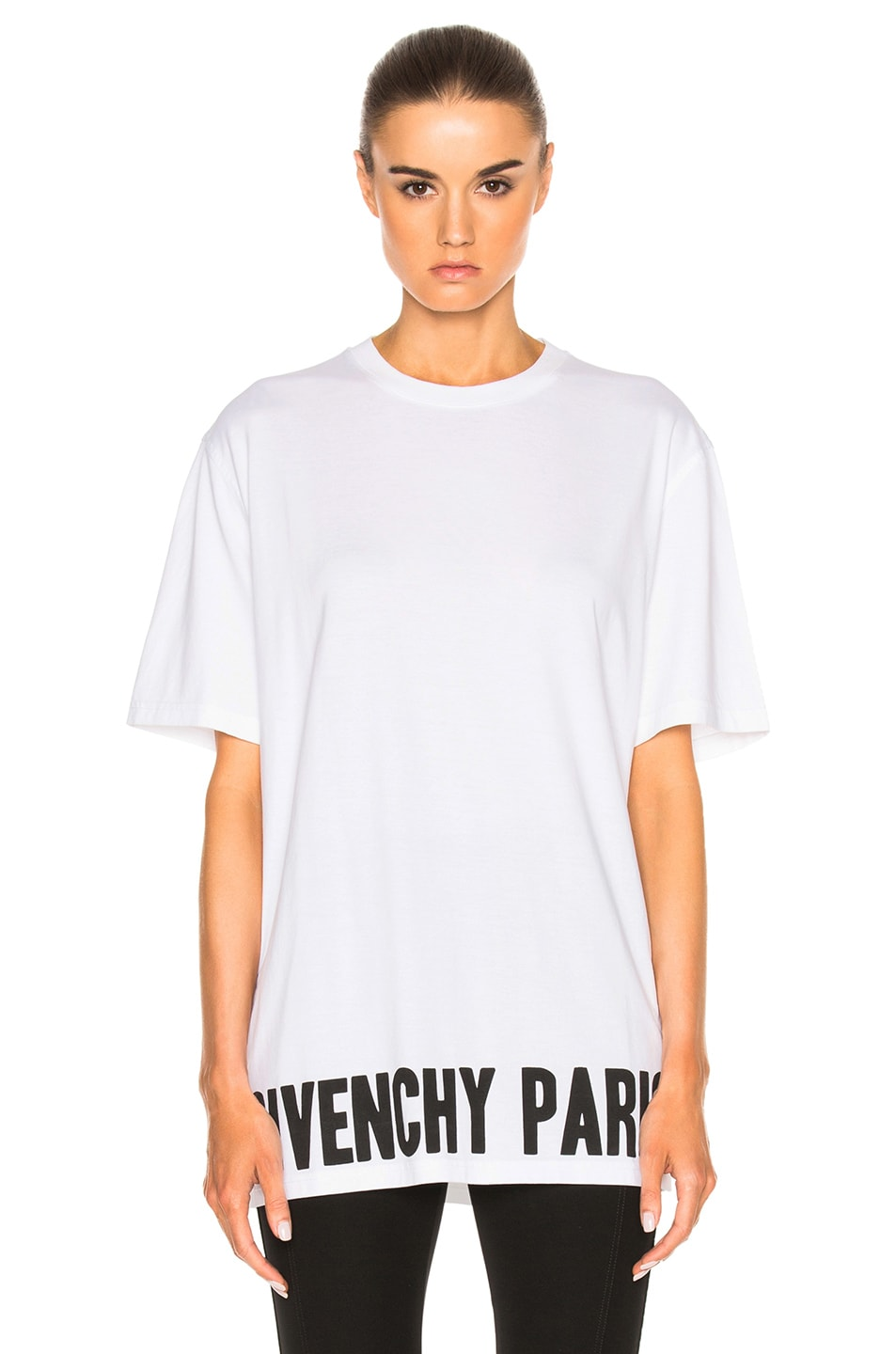 Image 1 of Givenchy Tee in Black & White