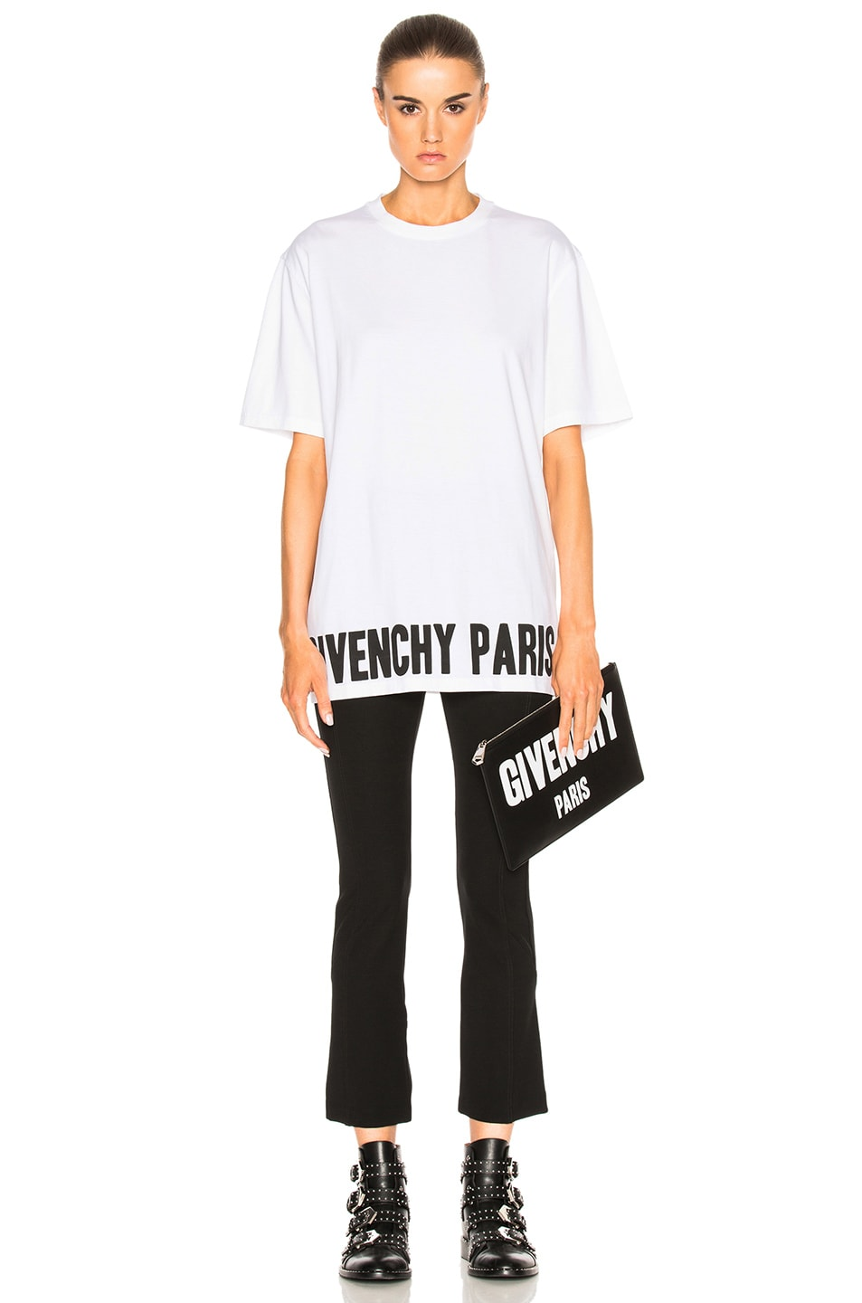 Image 5 of Givenchy Tee in Black & White