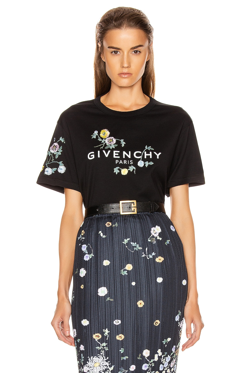 Image 1 of Givenchy Masculine T Shirt in Black