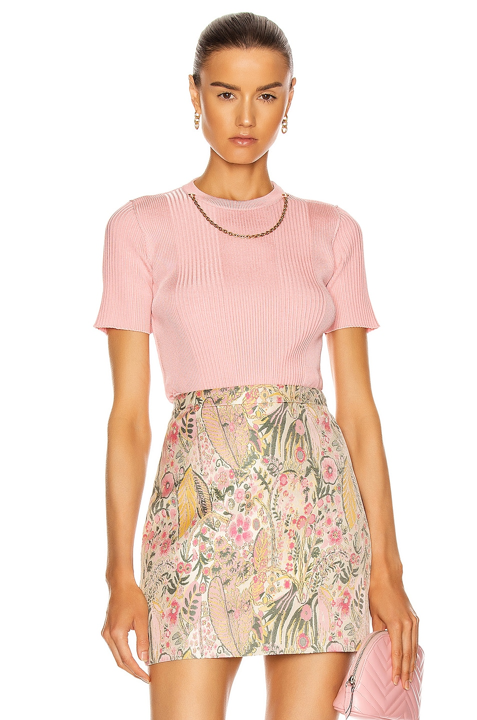 Image 1 of Givenchy Chain Top in Pink