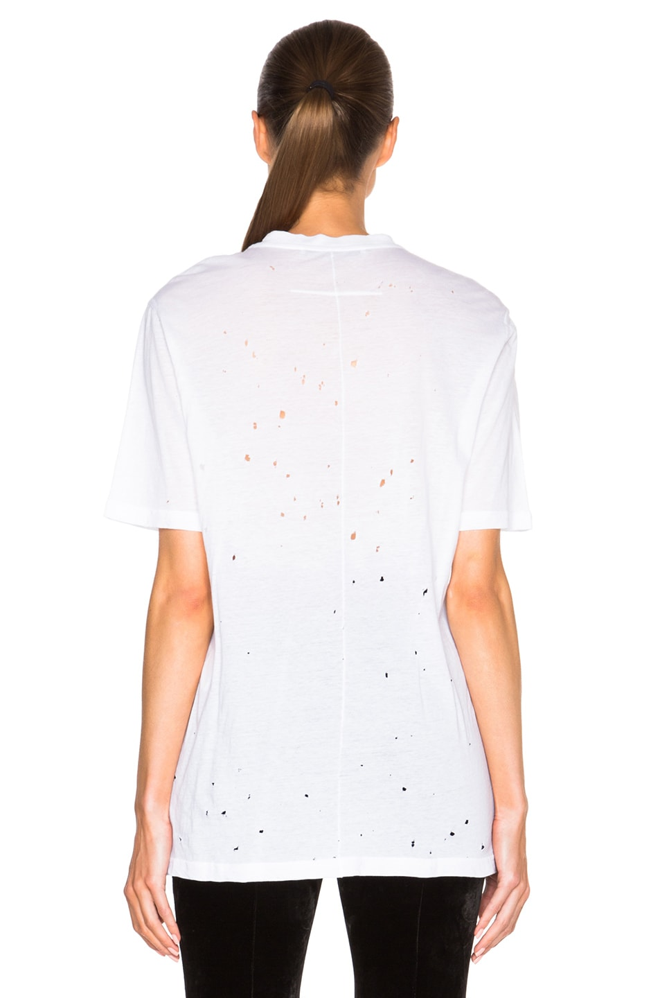 Image 4 of Givenchy Short Sleeve Tee in White