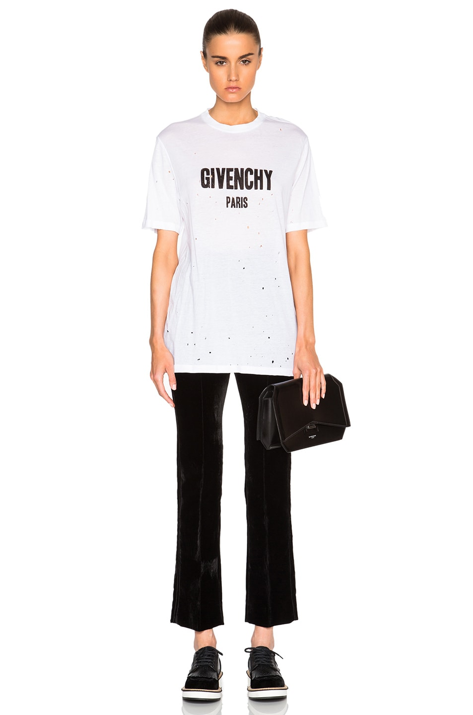 Image 5 of Givenchy Short Sleeve Tee in White
