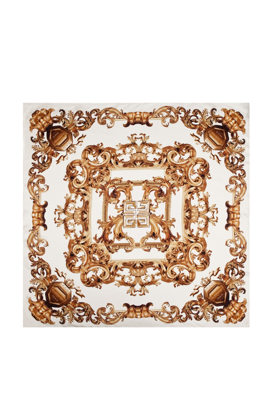 Image 1 of GIVENCHY Arabesque Scarf in Ivory