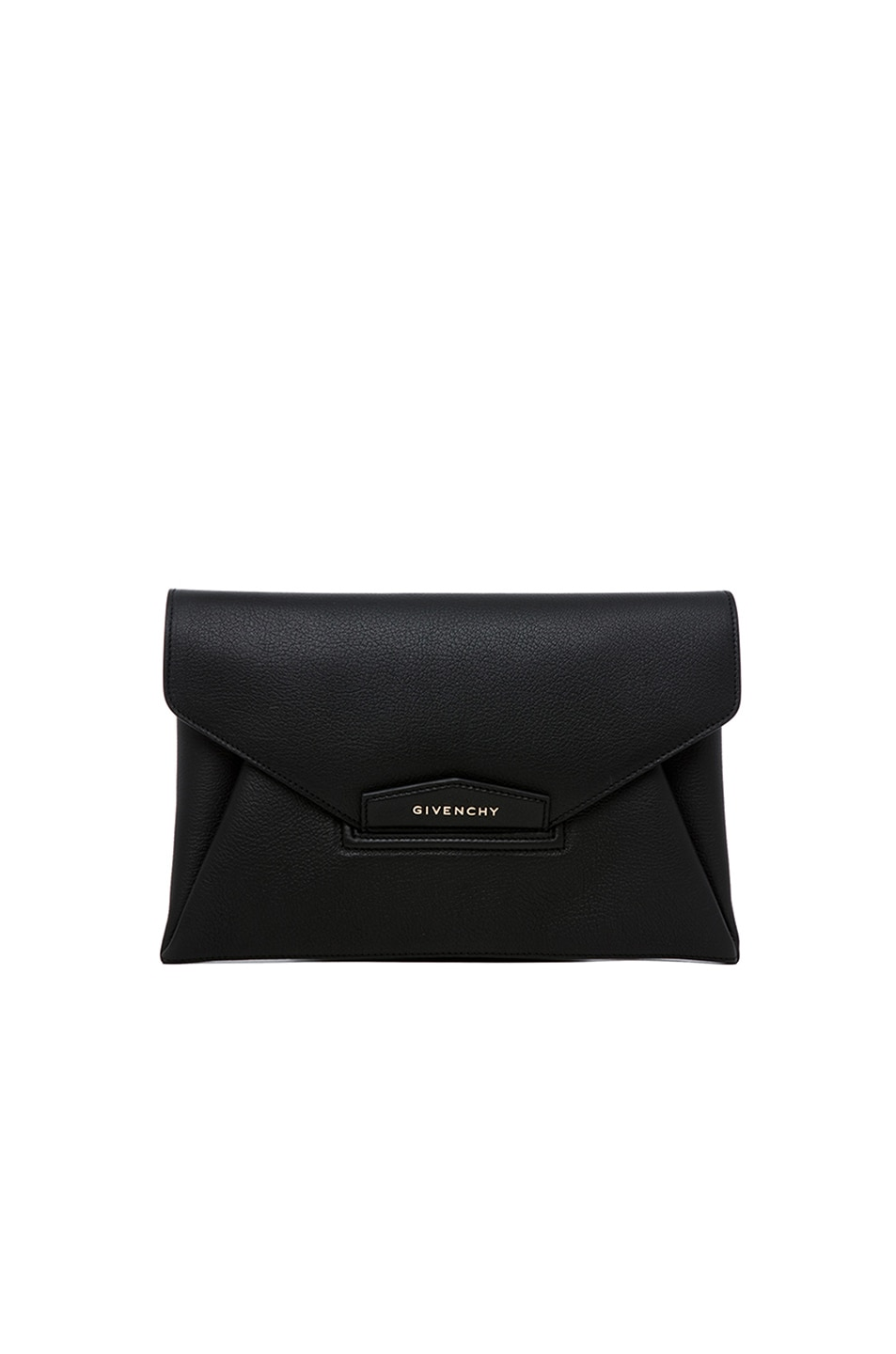 Image 1 of GIVENCHY Medium Antigona Envelope Clutch in Black