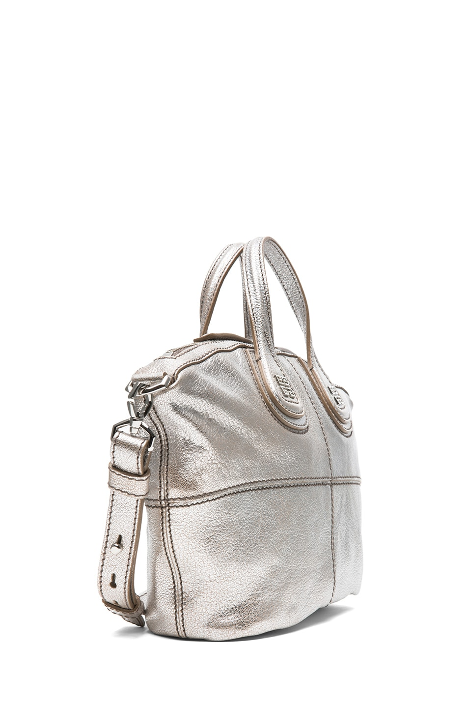 Image 3 of GIVENCHY Micro Metallic Nightingale in Silver