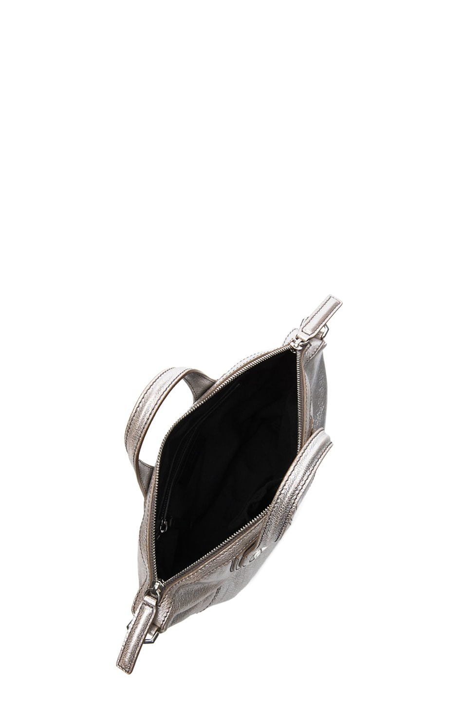 Image 4 of GIVENCHY Micro Metallic Nightingale in Silver