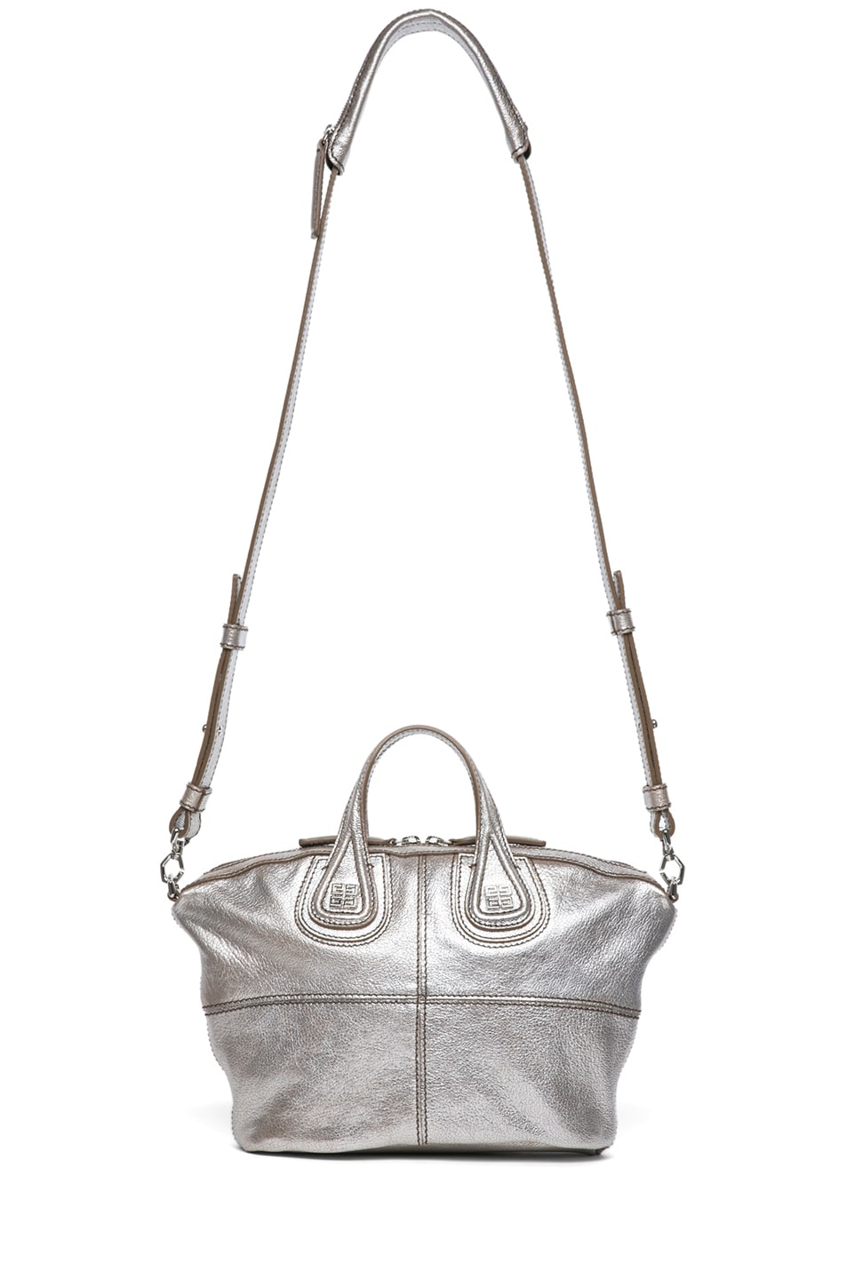 Image 5 of GIVENCHY Micro Metallic Nightingale in Silver