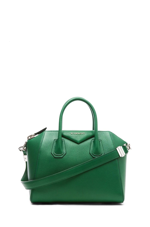 Image 1 of GIVENCHY Small Antigona in Emerald Green