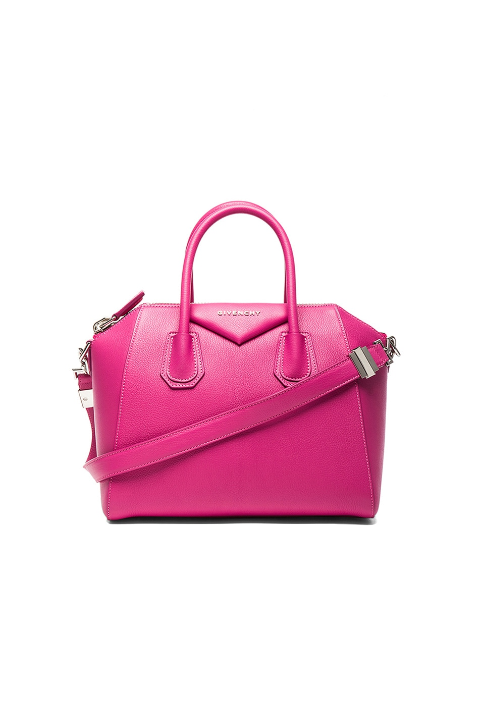 Image 1 of GIVENCHY Small Antigona in Fuchsia