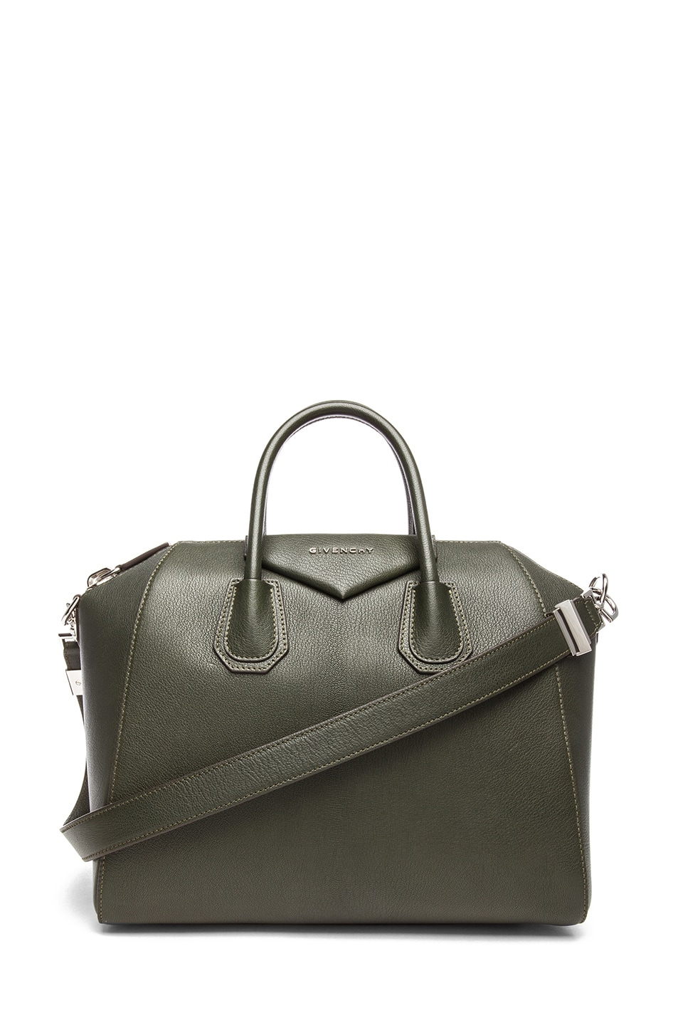 Image 1 of GIVENCHY Medium Antigona Bottle Green