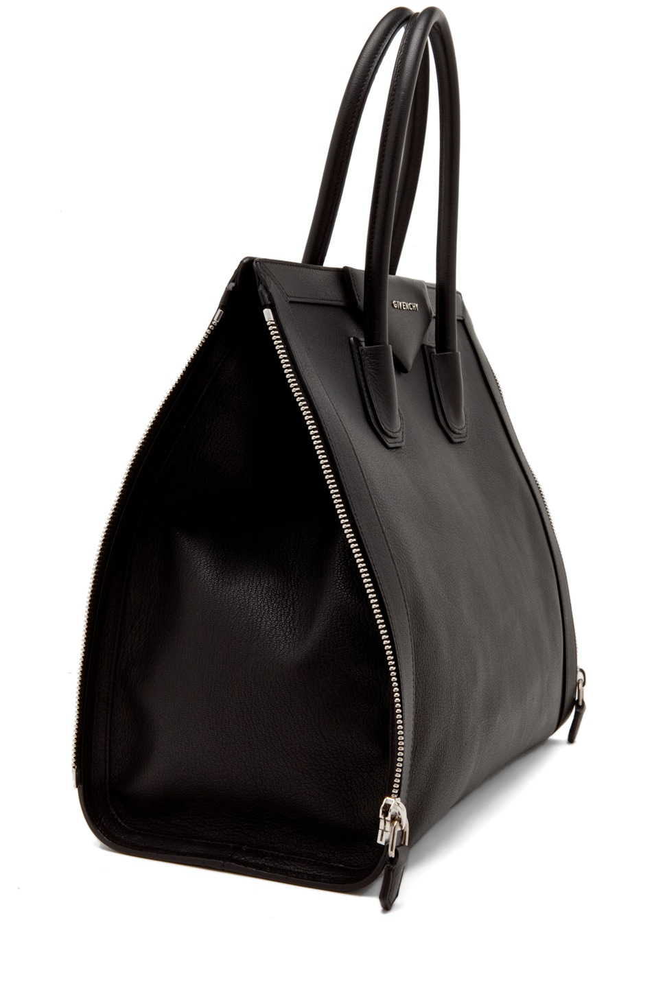 42bbdba1b03f Image 3 of Givenchy Antigona Tote with Zippers in Black