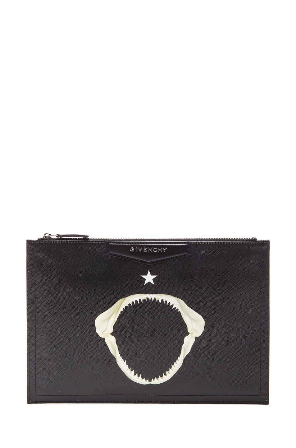 Image 1 of Givenchy Shark Jaw Antigona Zip Pouch in Multi 73f9bfb93f7a0