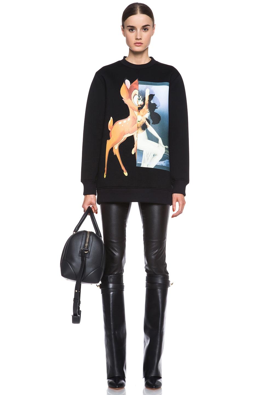 Image 5 of GIVENCHY Medium Lucrezia Bag in Black