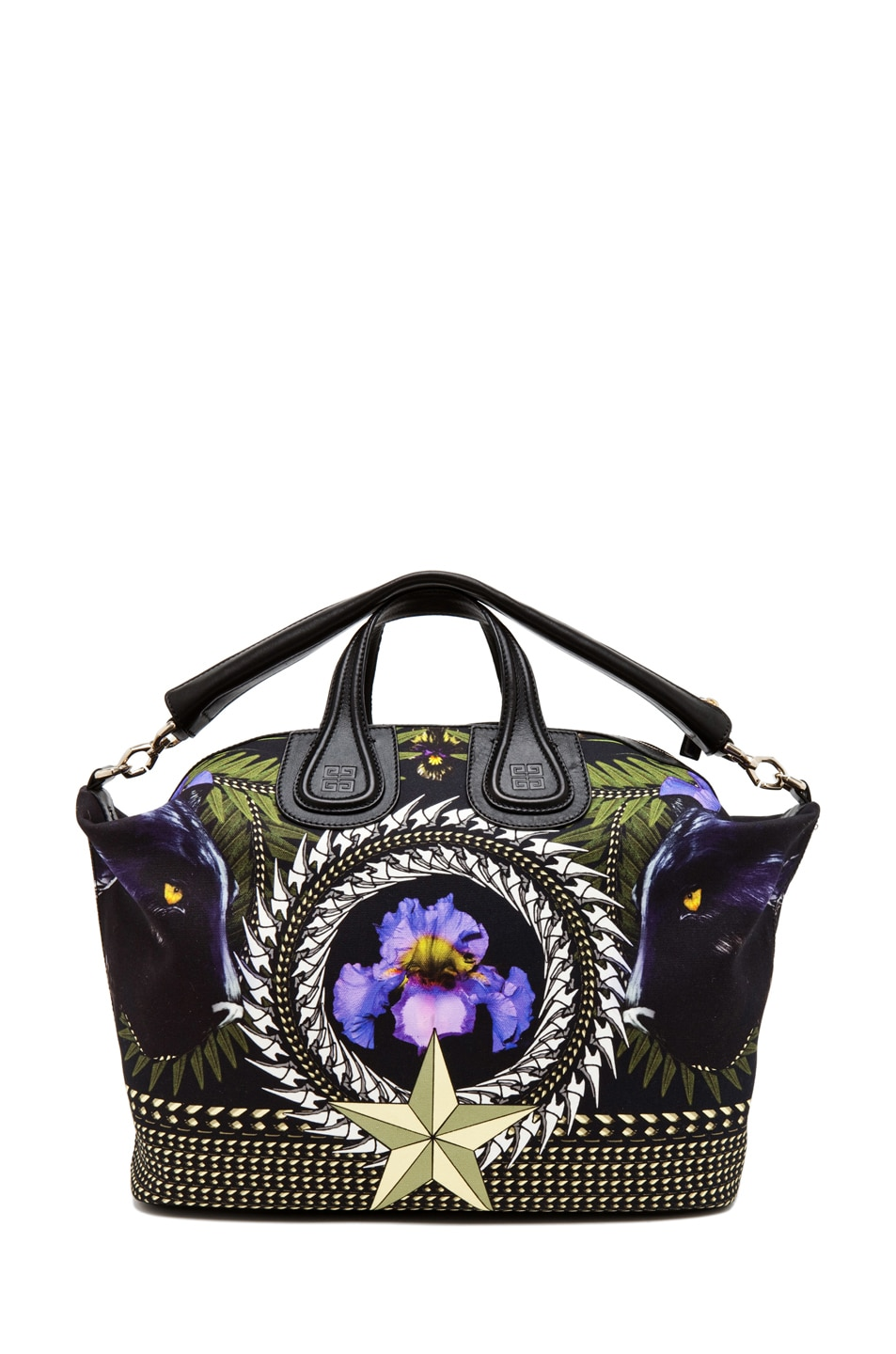 Image 5 of GIVENCHY Nightingale Large in Iris Print