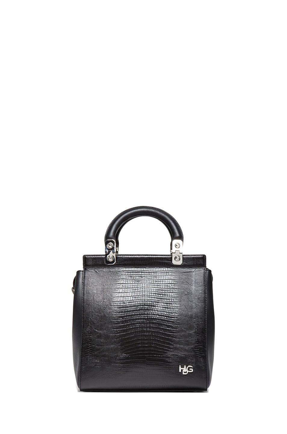 Image 1 of GIVENCHY HDG Stamped Doctor Bag in Black
