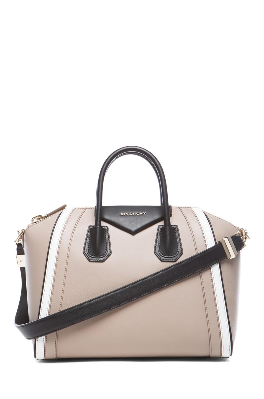 01c2914356 Image 1 of Givenchy Medium Tri Color Antigona in Beige