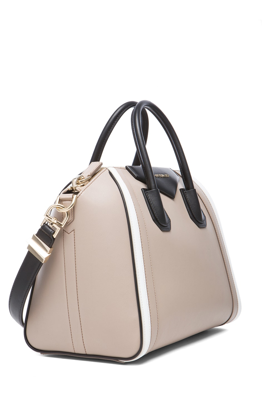 18eb7e3adf Image 3 of Givenchy Medium Tri Color Antigona in Beige