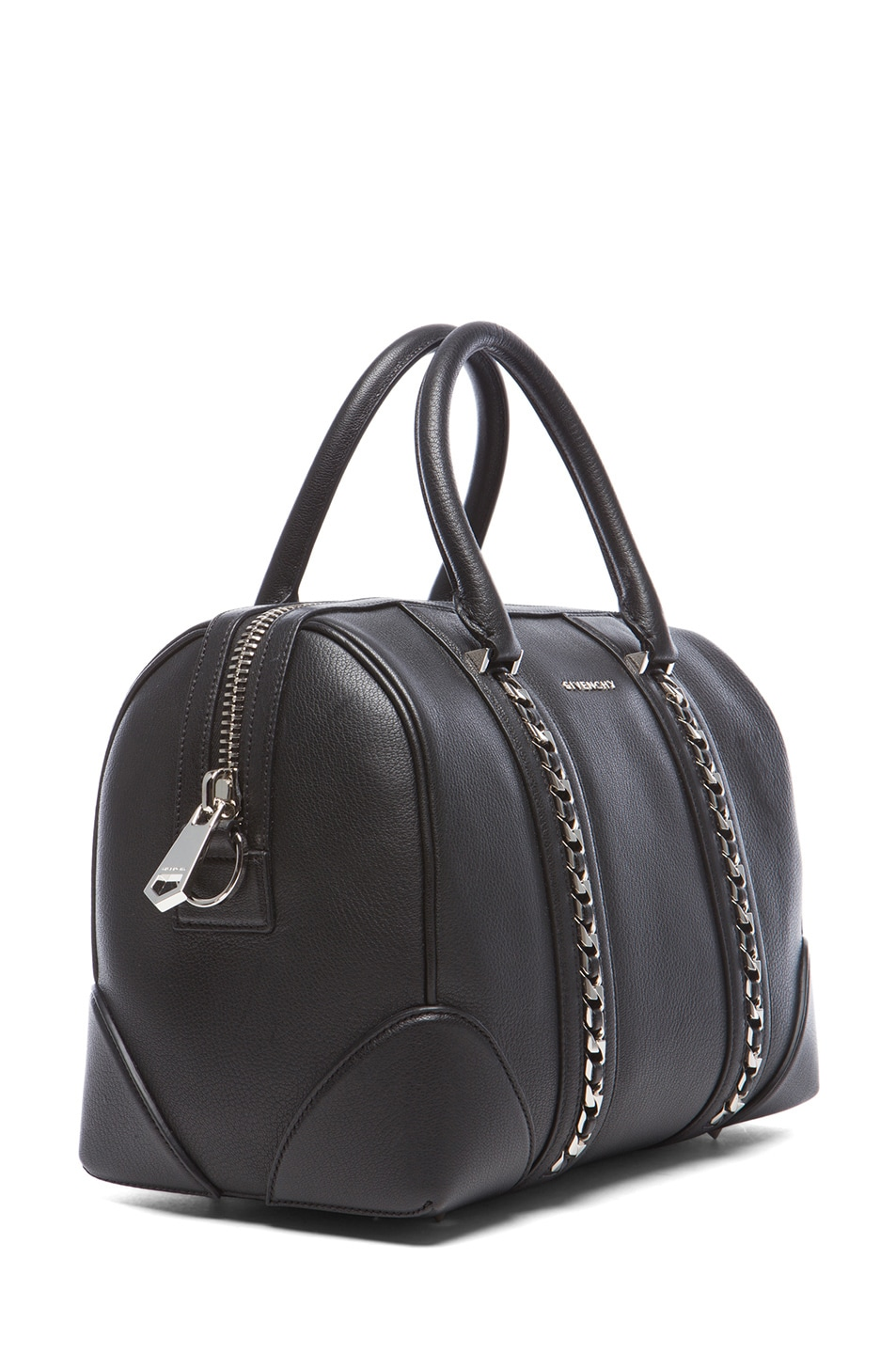 c059b3ce02ad Image 3 of Givenchy Chain Animation Medium Lucrezia in Black