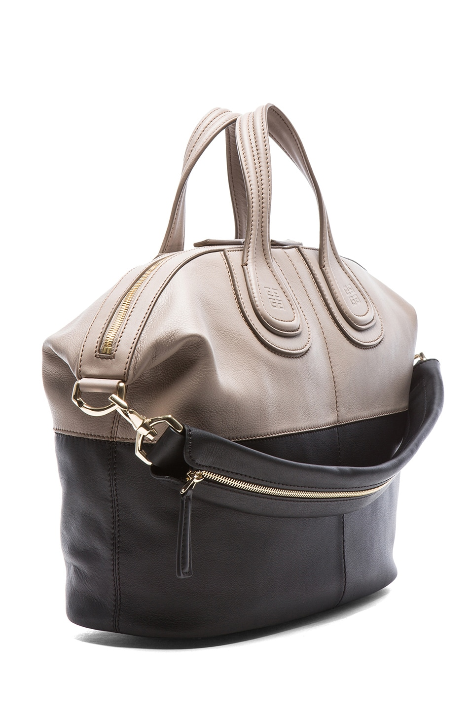 a50246287e Image 3 of Givenchy Medium Bi Color Nightingale in Taupe