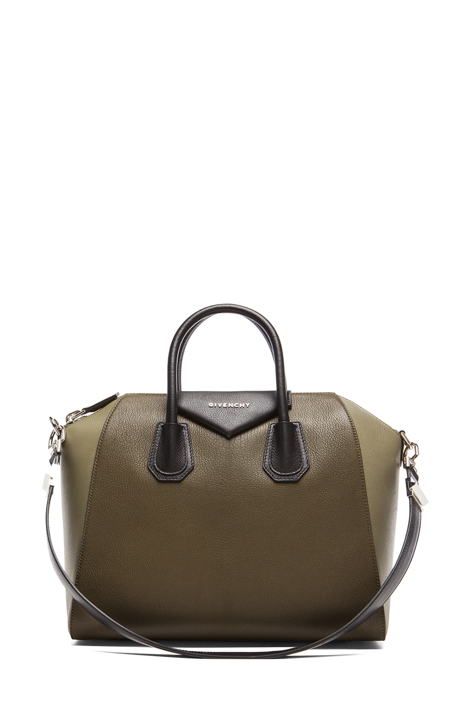 Image 1 of Givenchy Medium Antigona in Khaki Multi