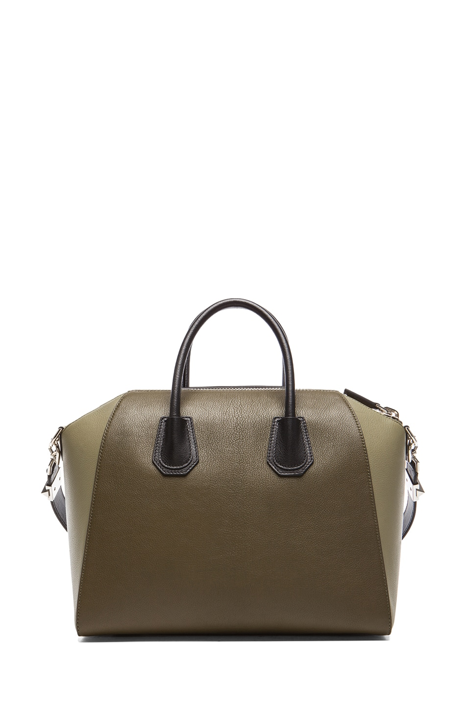 Image 2 of Givenchy Medium Antigona in Khaki Multi