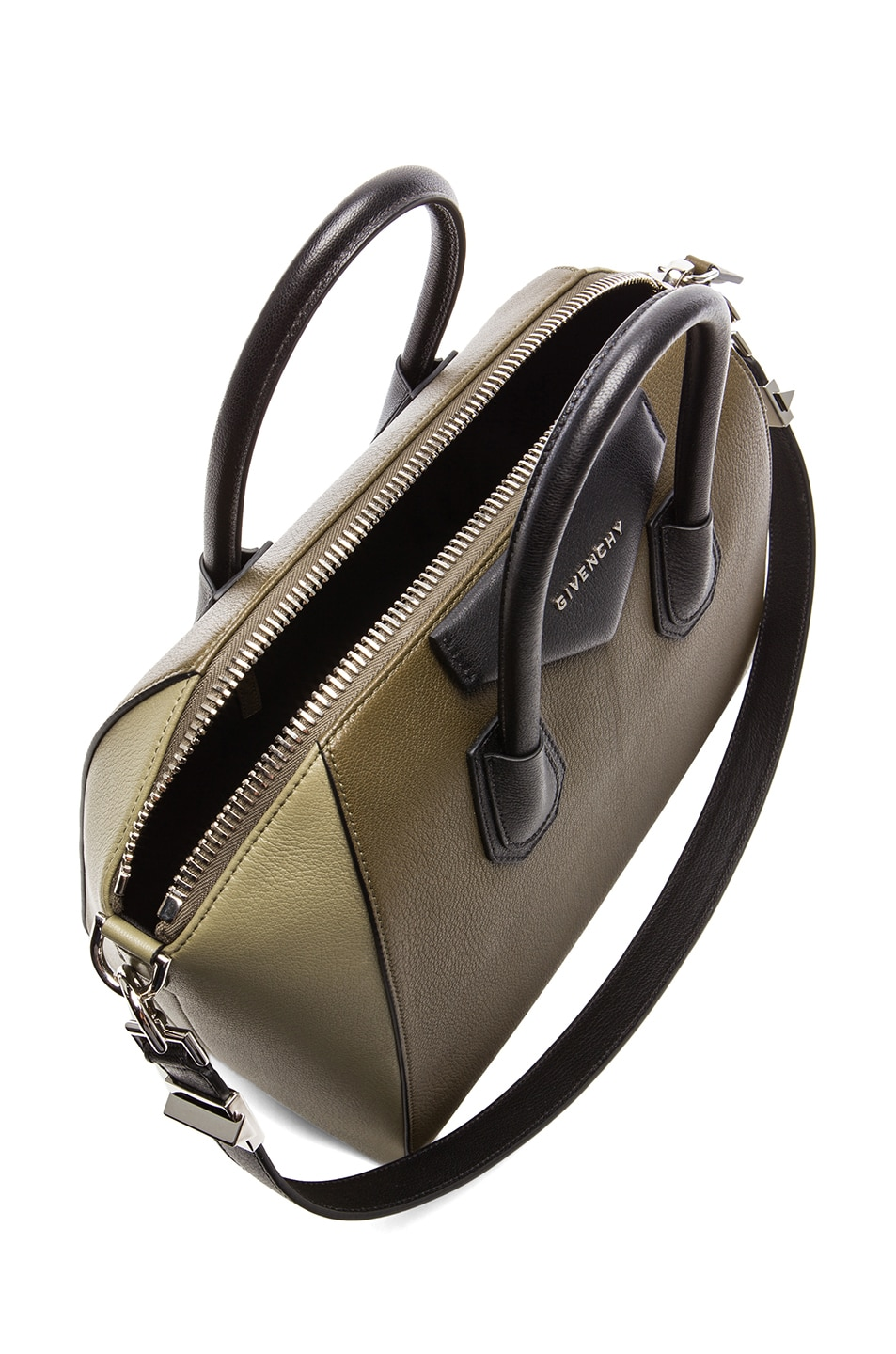 Image 4 of Givenchy Medium Antigona in Khaki Multi
