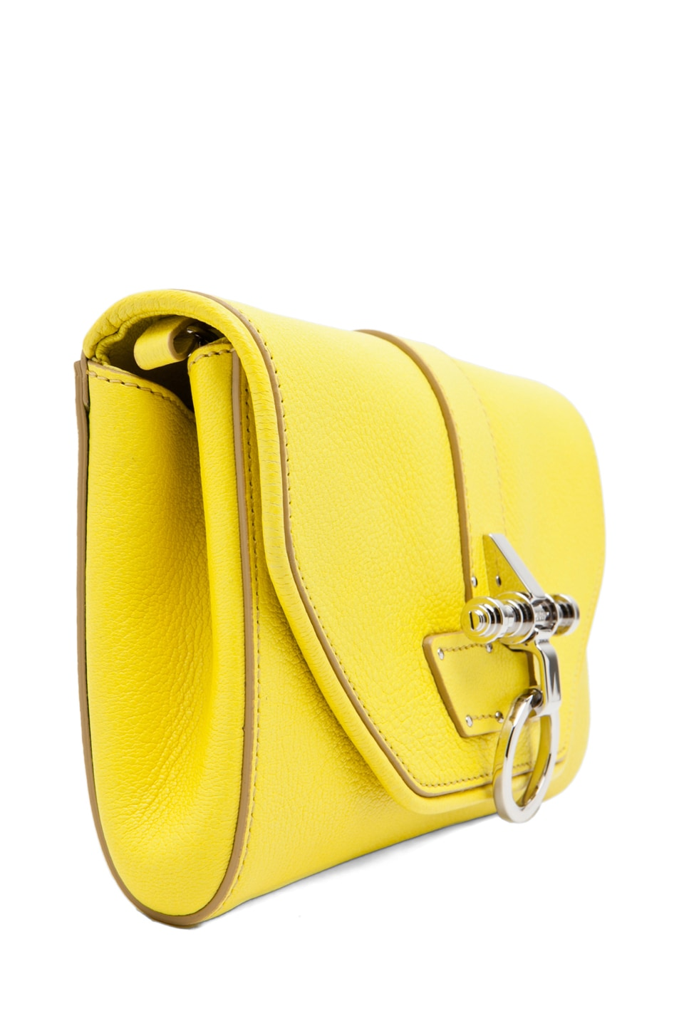 Image 2 of GIVENCHY Obsedia Clutch in Yellow