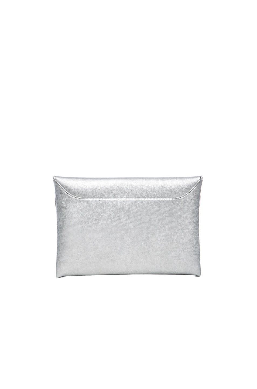Image 3 of Givenchy Medium Antigona Clutch in Silver