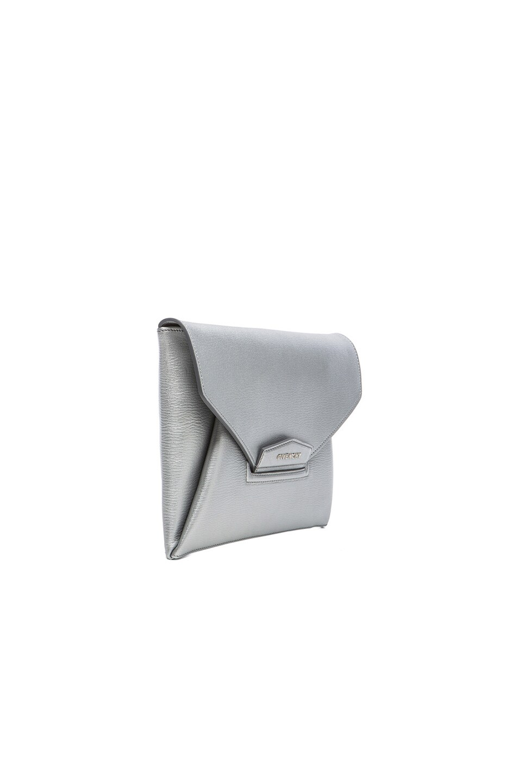 Image 4 of Givenchy Medium Antigona Clutch in Silver