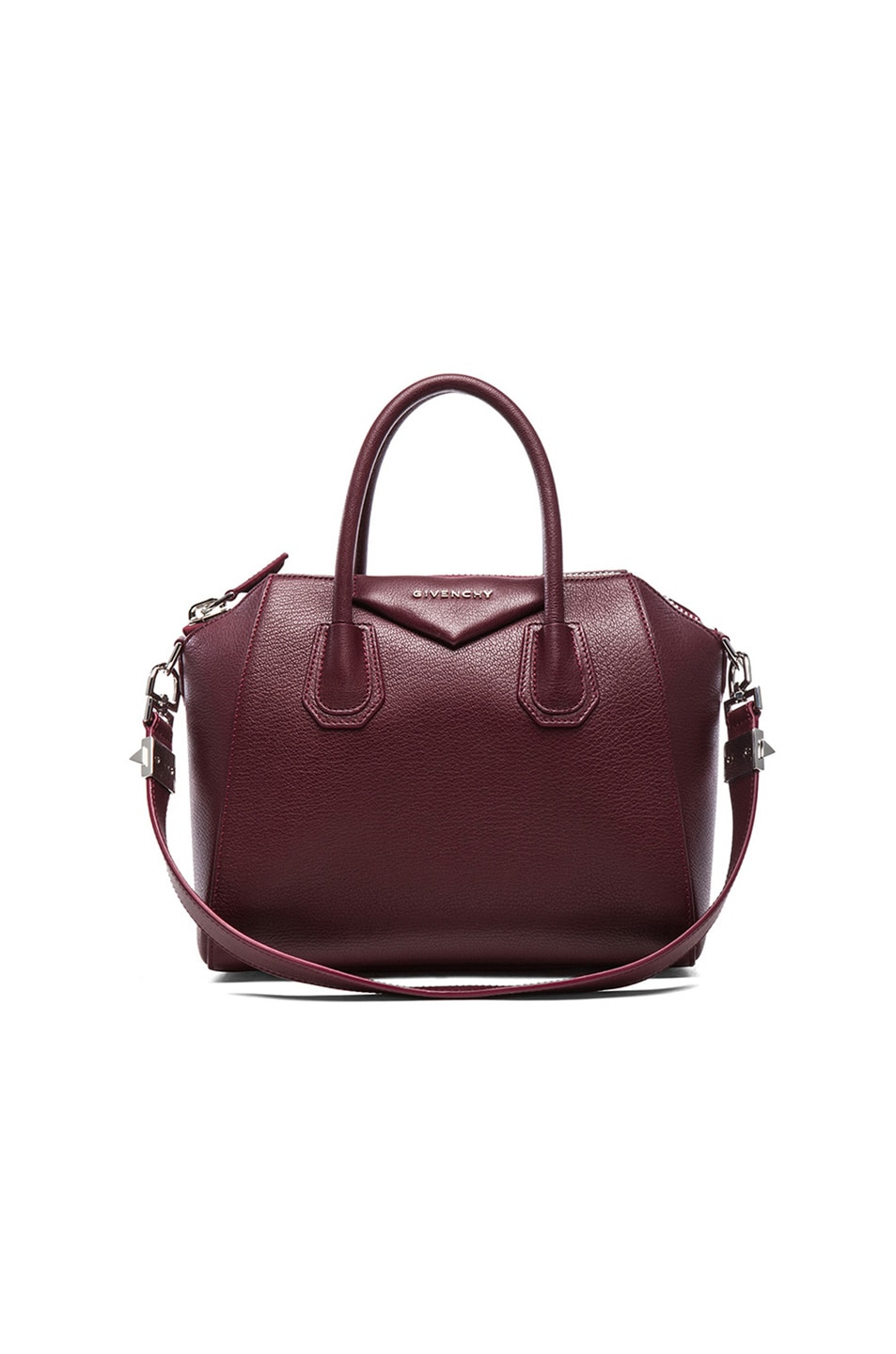 Image 1 of GIVENCHY Small Antigona Bag in Oxblood