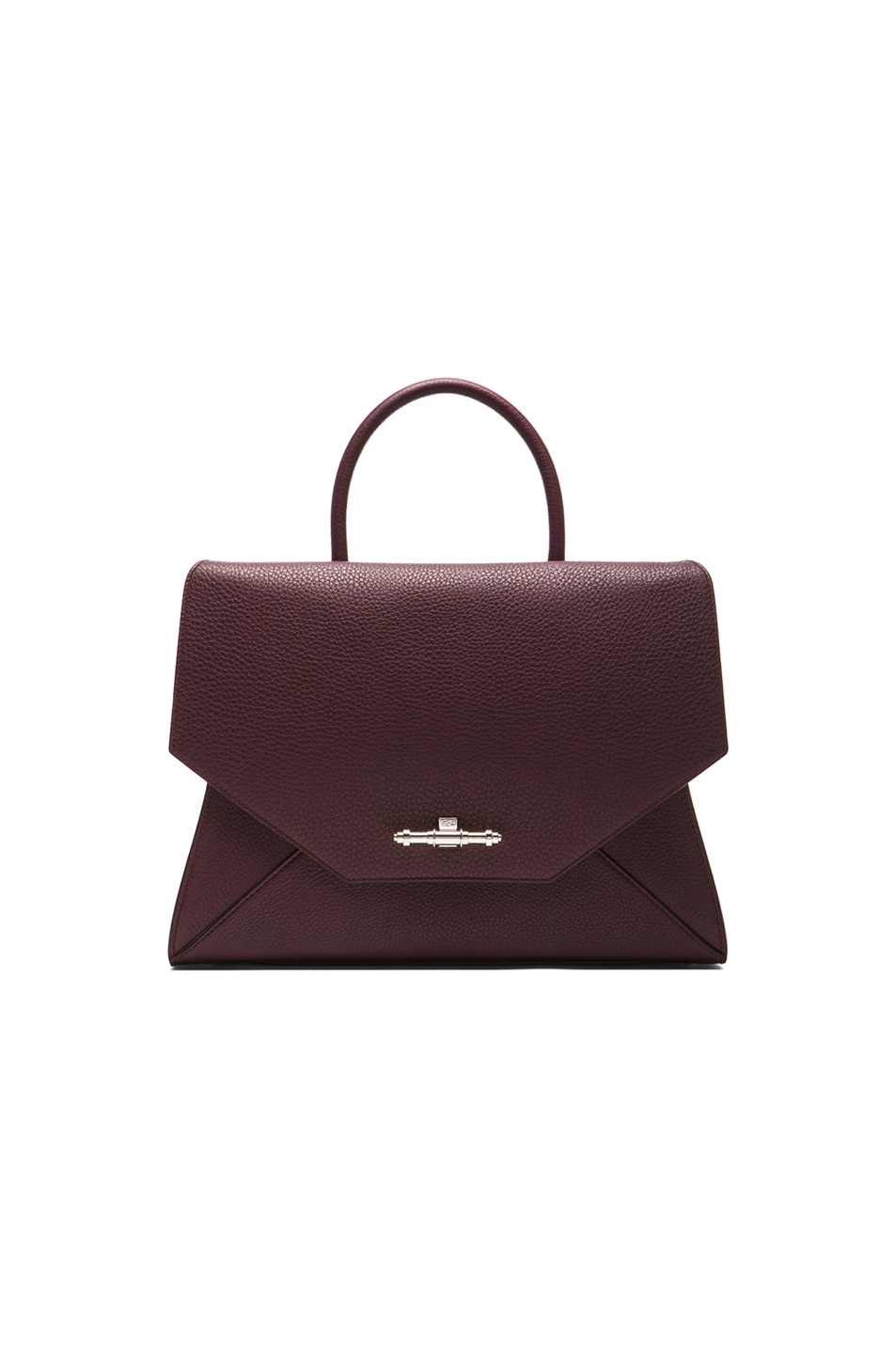 Image 1 of GIVENCHY Medium Obsedia Top Handle Bag in Oxblood