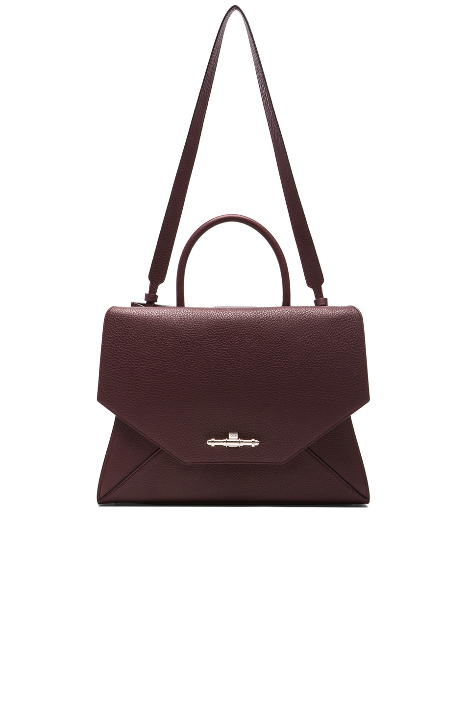 56896915aa Image 5 of Givenchy Medium Obsedia Top Handle Bag in Oxblood