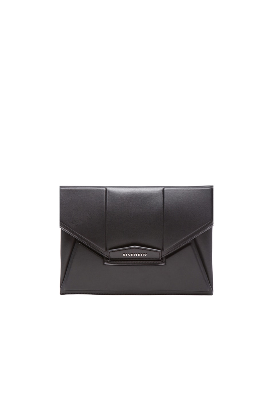 Image 1 of GIVENCHY Medium Antigona Clutch in Debossed Black