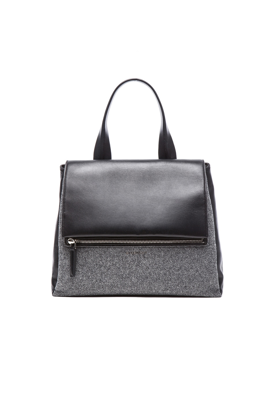 Image 1 of Givenchy Medium Pandora Flap Bag in Dark Grey