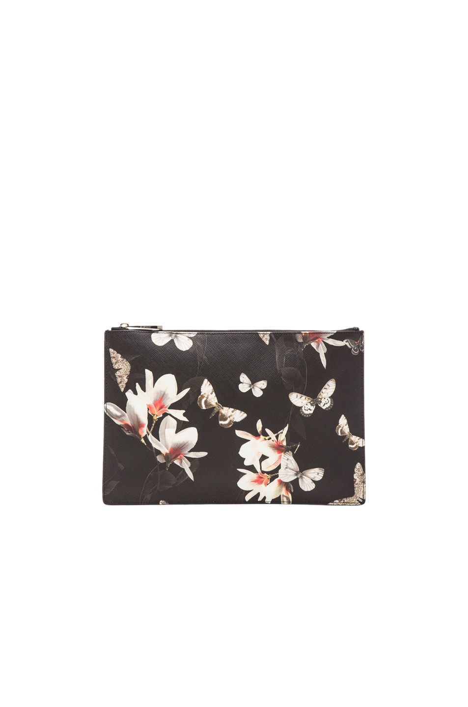 Image 1 of GIVENCHY Magnolia Moth Print Pouch in Multi