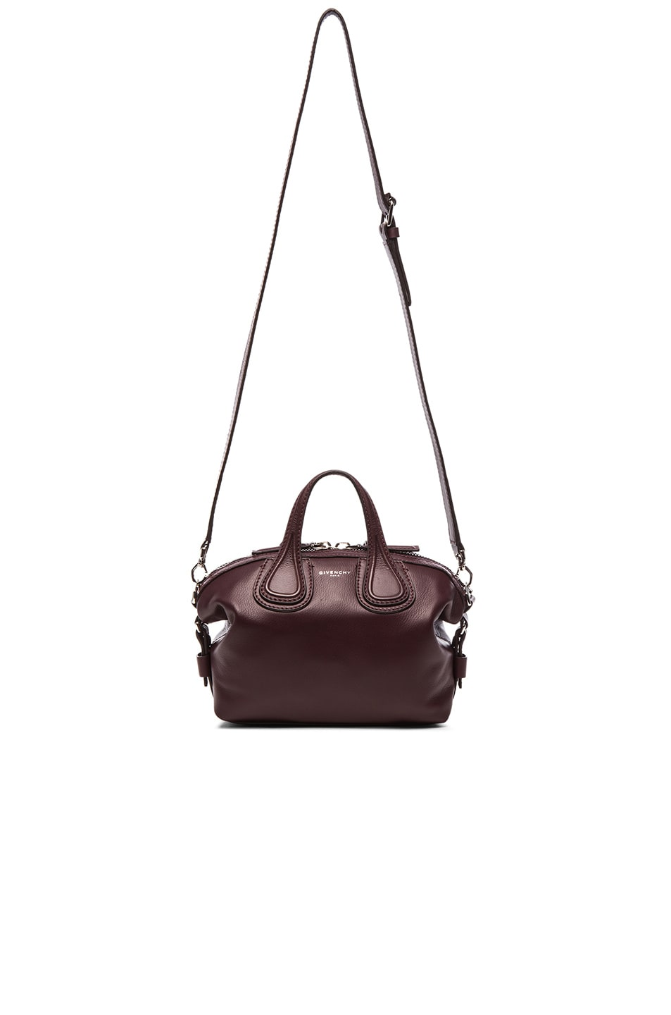 4fc676e20e78 Image 1 of Givenchy Micro Nightingale in Oxblood