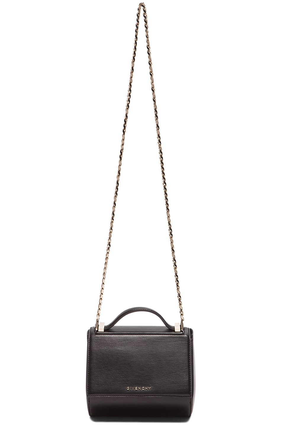Image 1 of Givenchy Mini Chain Pandora Box in Black