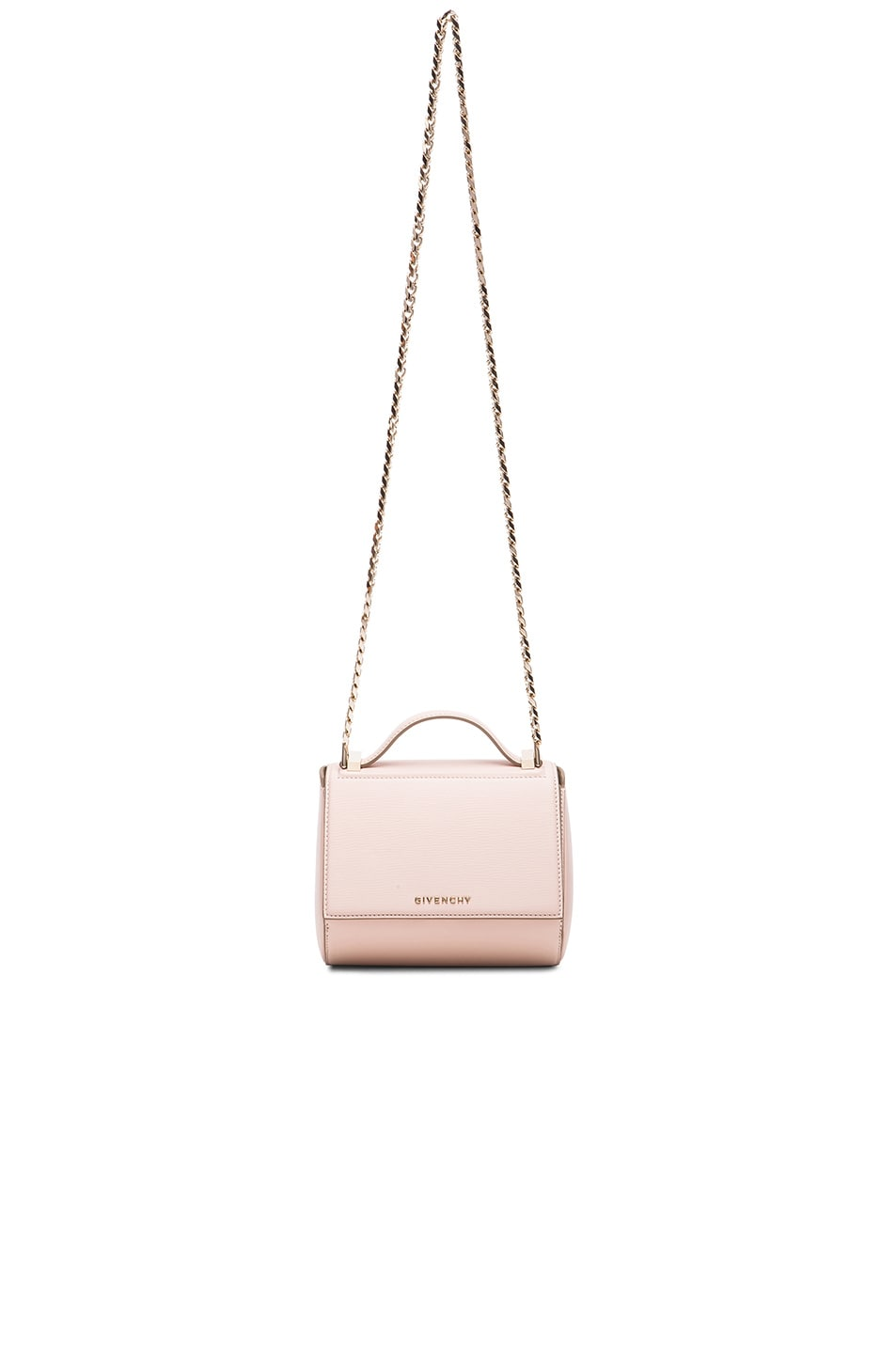 c067457e29 Image 1 of Givenchy Mini Chain Pandora Box in Nude