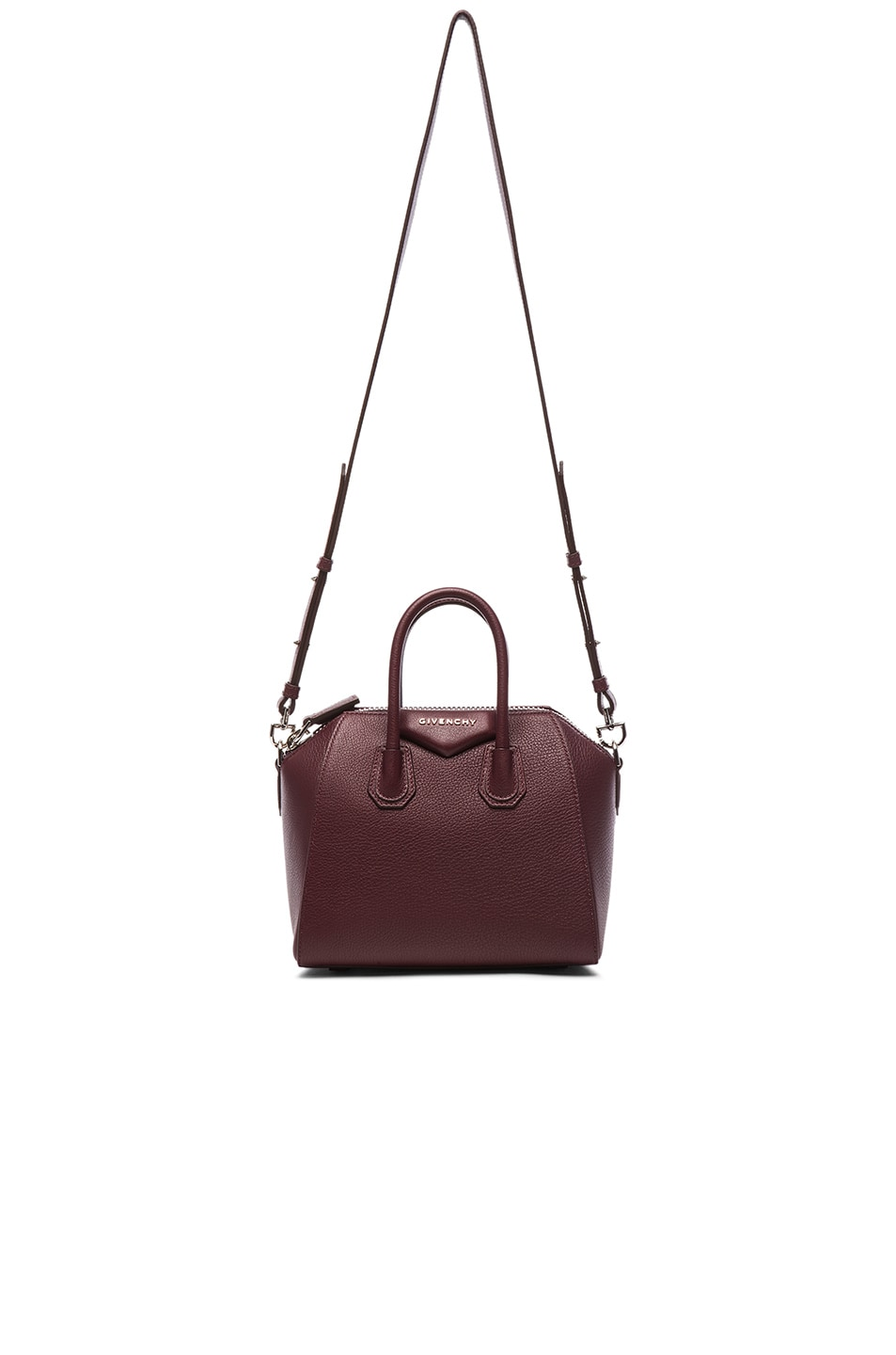 Image 1 of Givenchy Mini Antigona in Oxblood Red