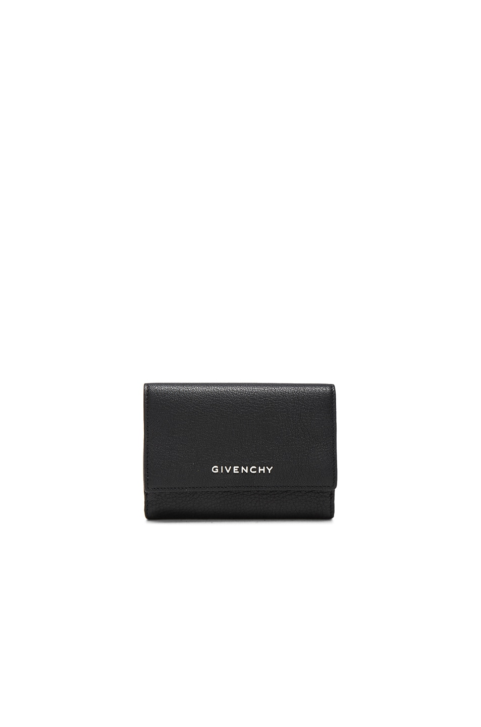 Image 1 of Givenchy Compact Wallet in Black