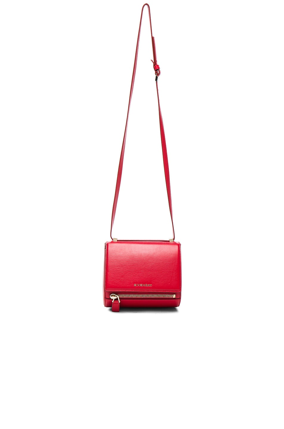 Image 1 of Givenchy Mini Pandora Box in Medium Red