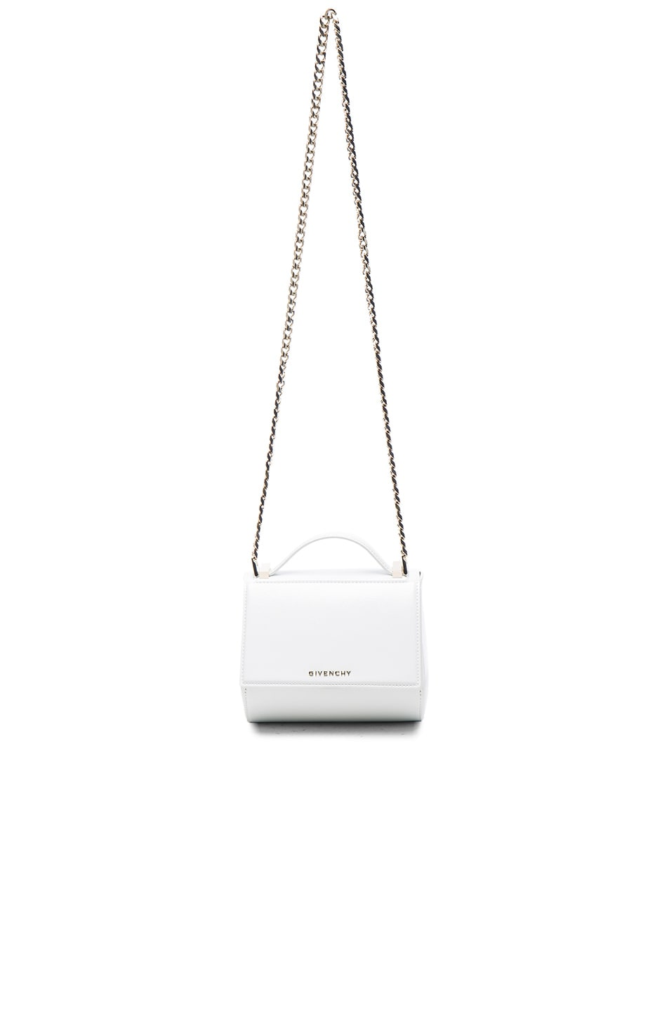 Image 1 of Givenchy Mini Pandora Box Bag in White