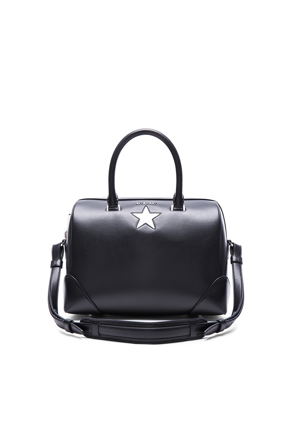 4f5b3070f73d Image 1 of Givenchy Medium Lucrezia With Star in Black   White